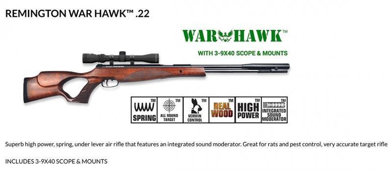 Remington War Hawk