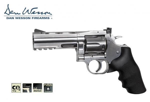 Dan Wesson 715 Air Pistol Silver